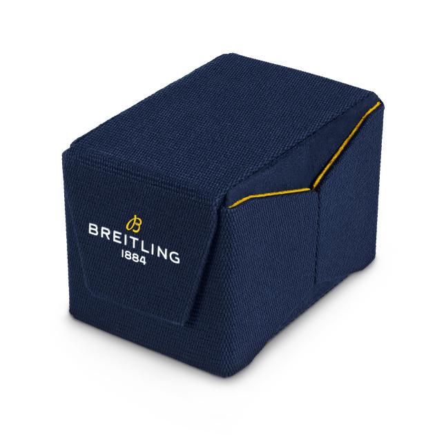 Breitling utilise du PET recyclé pour son nouvel écrin.