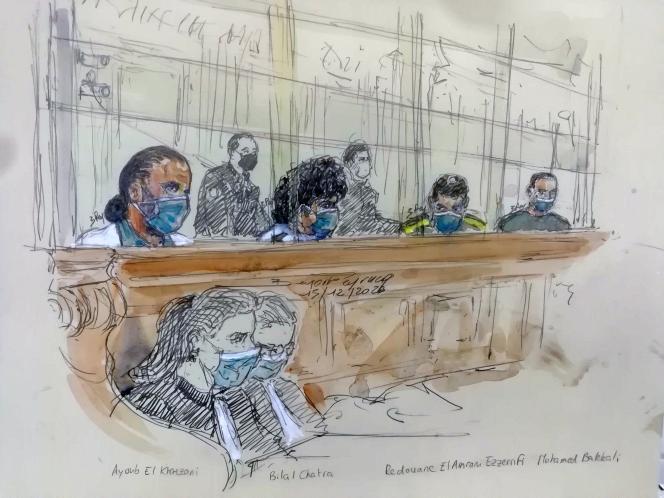 Au procès du Thalys, le 15 décembre.
