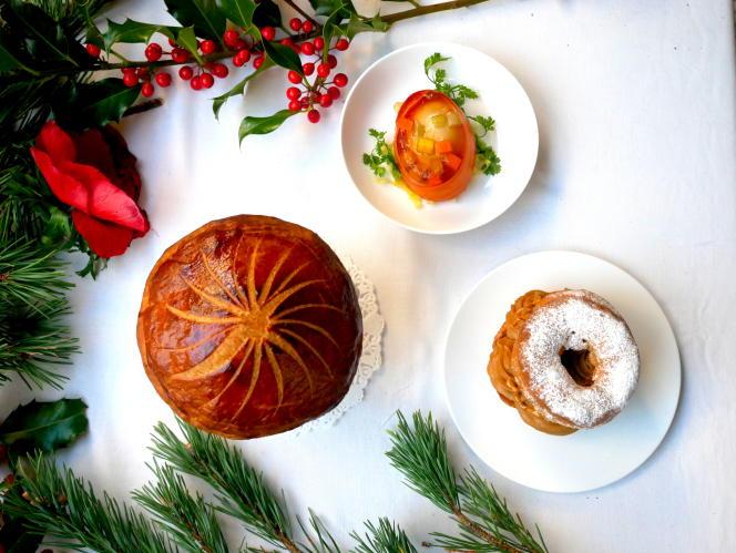 Menu de Noël du Servan.