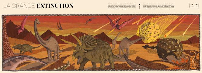 Extrait de « La Fabuleuse Histoire de la Terre».
