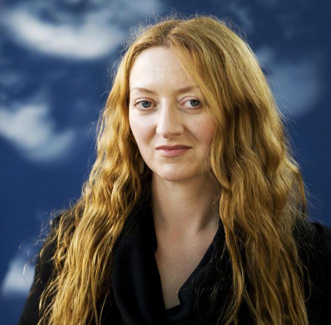 L'écrivaine irlandaise Claire Keegan, à Edinbourg, en 2010.