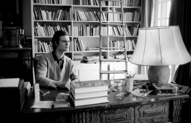 Patrick Modiano, jeune écrivain, en 1968.