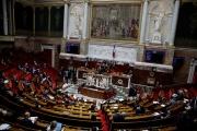 L'hémicycle de l'Assemblée nationale, le 16 décembre 2020.