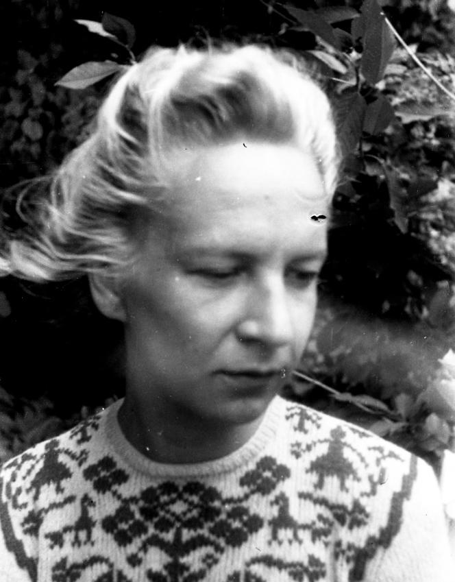 Simone Debout-Oleszkiewicz en 1947.