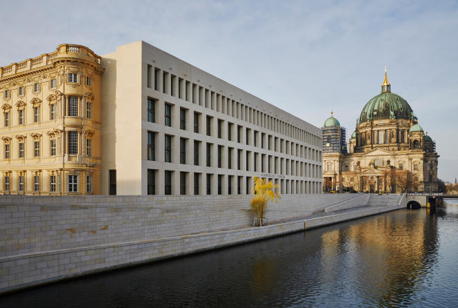 Le Humboldt Forum, inauguré le 16 décembre, sur l'île aux Musées à Berlin.