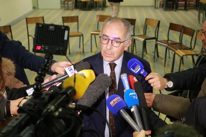 Manuel Tunon de Lara, président de l'université de Bordeaux, en mars 2016.