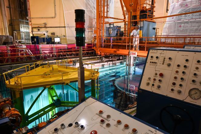 Le réacteur de la centrale du Tricastin (Drôme), le 27 juin 2019.