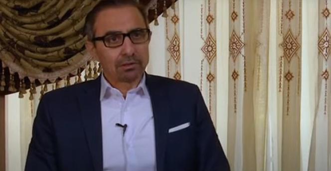 Habib Chaab, lors de ses« aveux» diffusés par la télévision iranienne, le 11 novembre.