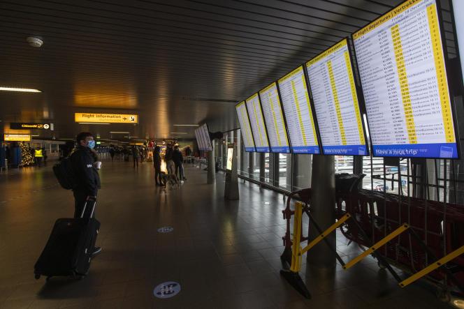 L'aéroport d'Amsterdam-Schiphol, le 18 décembre.