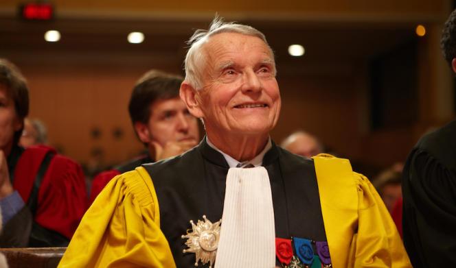 Alain Lancelot, ancien directeur de Science Po et membre du Conseil constitutionnel, le 7 décembre 2011.