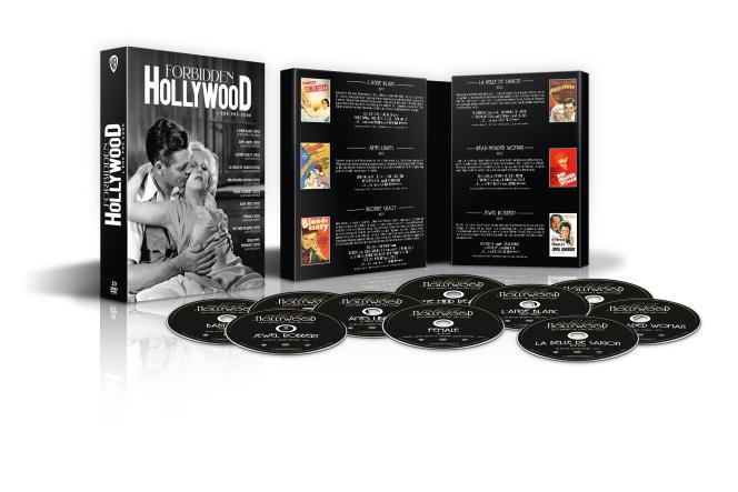 Le coffret« Forbidden Hollywood» comprend dix films réalisés entre 1929 et 1934.