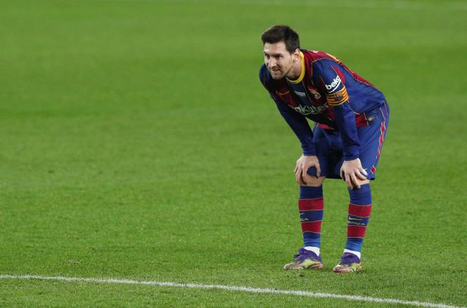 Lionel Messi, le 19 décembre 2020.