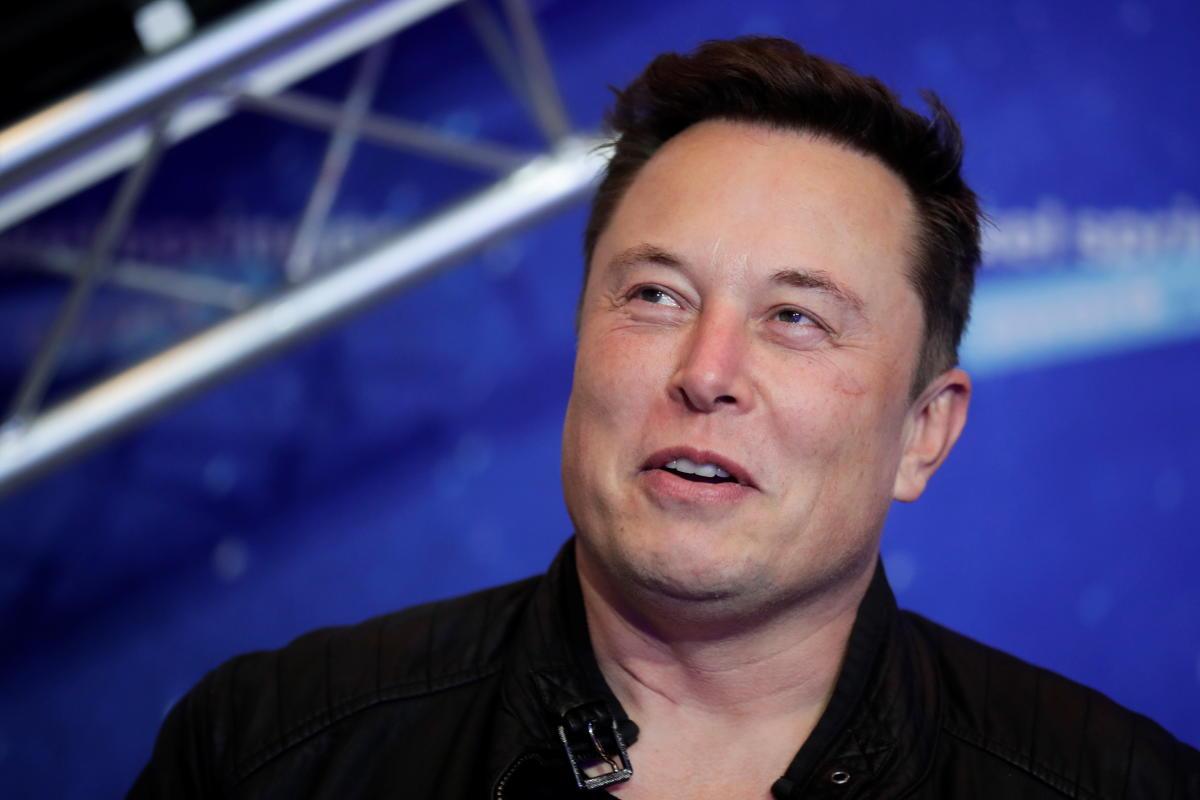 Elon Musk, propriétaire de SpaceX et PDG de Tesla, le 1er décembre 2020.