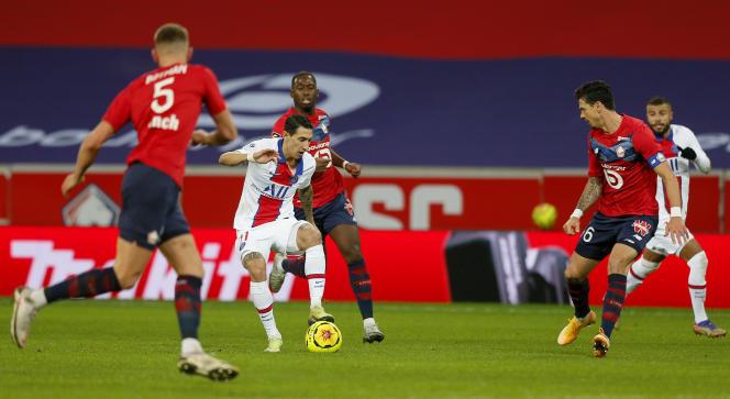 Ni le PSG d'Angel Di Maria, ni le Lille, n'ont réussi à s'imposer dimanche.