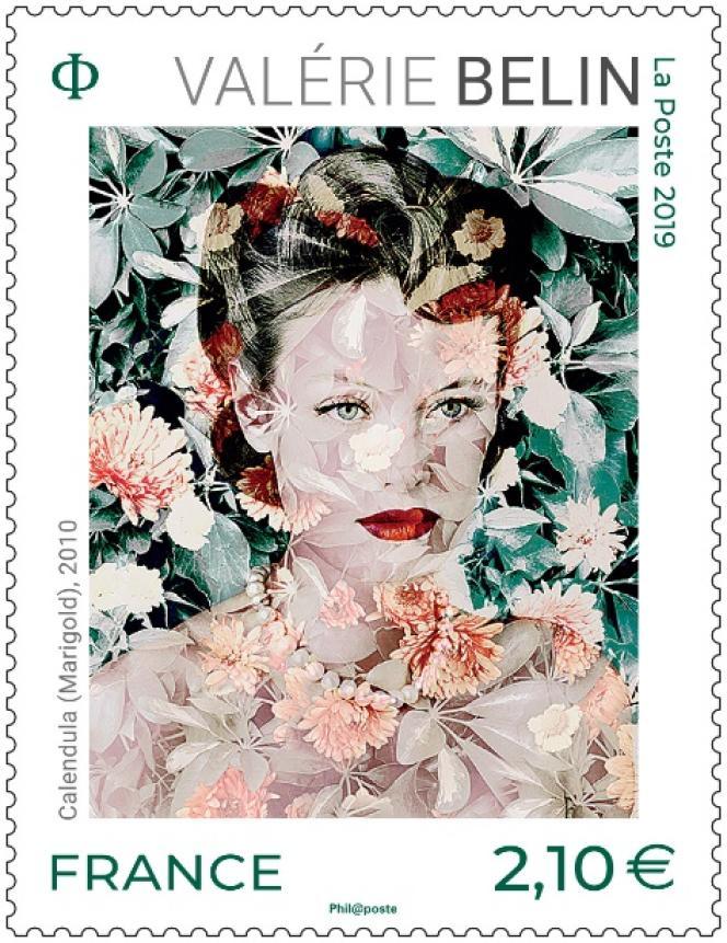 « Valérie Belin», timbre de la série artistique paru en 2019.
