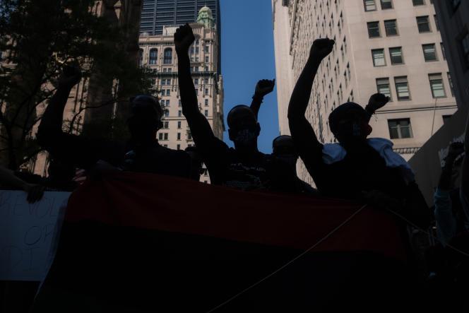 Une manifestation en soutien au mouvement « Black Empowerment» à New York, le 13 juin.