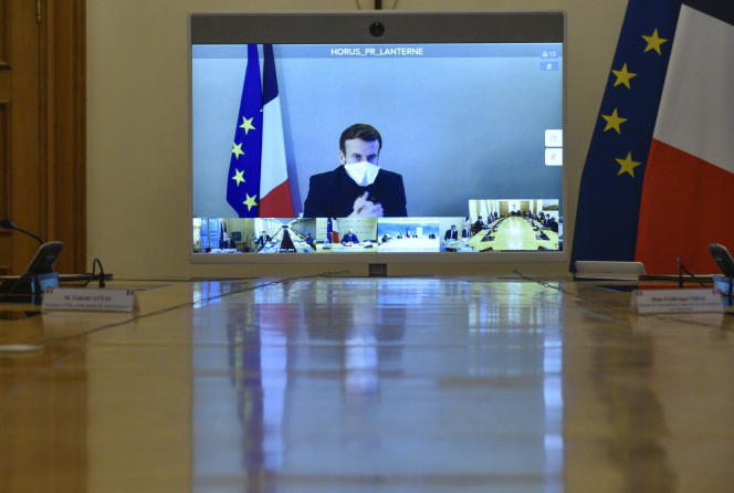 Le chef de l'Etat était parti s'isoler à la résidence de la Lanterne, près de Versailles, le 17 décembre