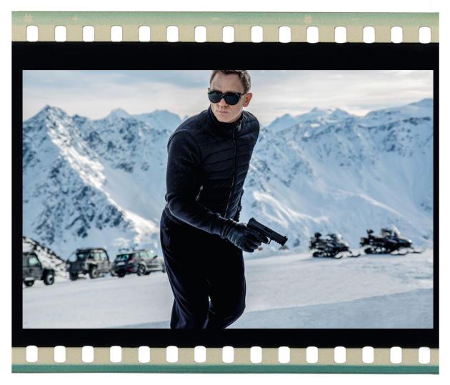Daniel Craig, dans «Spectre 007».