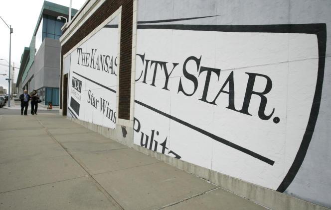La façade de la rédaction du « Kansas City Star» en 2006, à Kansas City, Missouri.