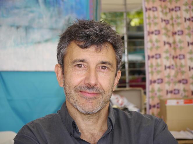 L'écrivain Christian Garcin, à Montpellier, en 2011.