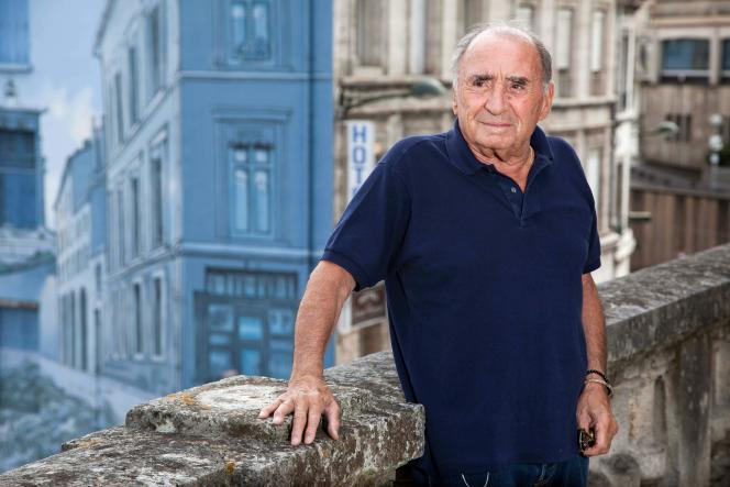 Claude Brasseur, en août 2015 à Angoulême.