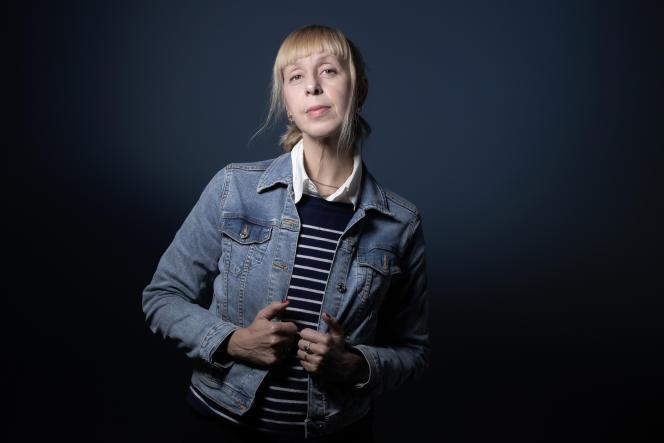 L'écrivaine Lola Lafon, à Paris, le 5 octobre 2020.