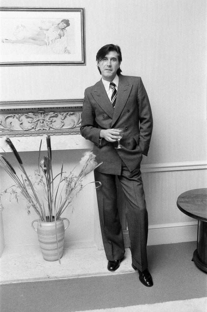 Bryan Ferry, en 1975.