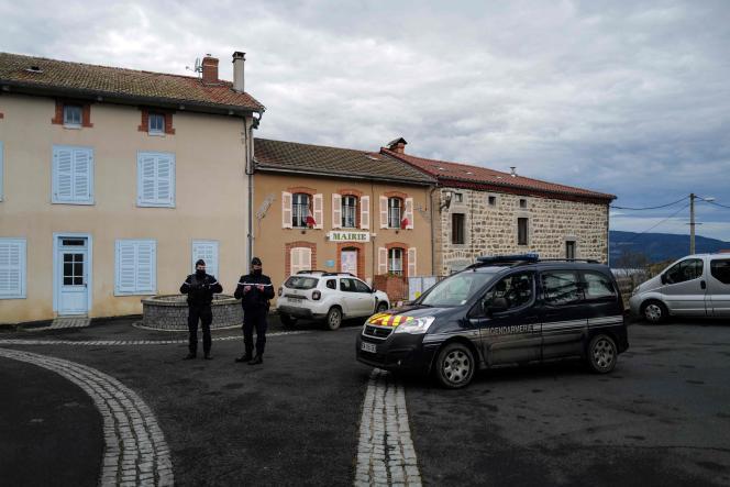 A Saint-Just, dans le Puy-de-Dôme, le 23 décembre.