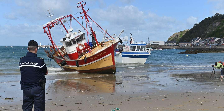 A Saint-Brieuc, les pêcheurs réclament l'abandon d'un projet de champ éolien