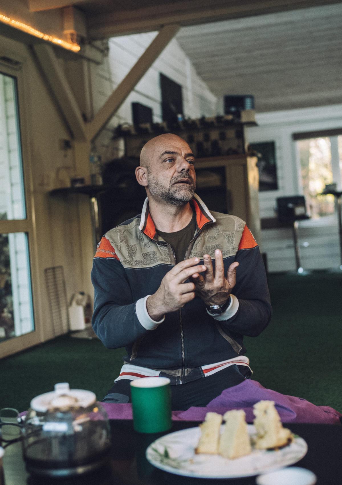 Jerôme Pensu, co-fondateur de Rewild et gérant du parc animalier de Pont-Scorff, dans le Morbihan.