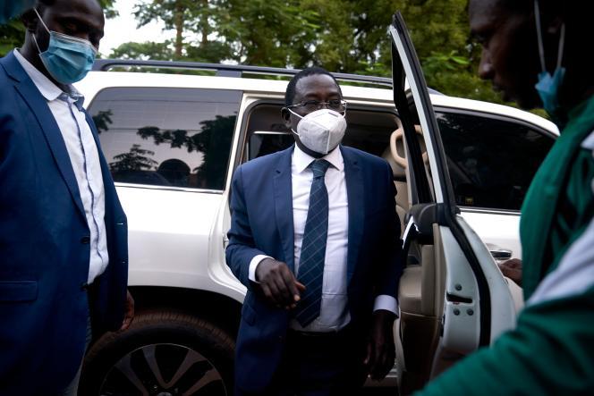 L'opposant Soumaïla Cissé rentre chez lui, à Bamako, le 9 octobre, après six mois de détention par des djihadistes.