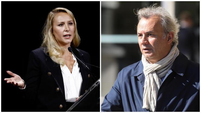 Marion Maréchal et Bruno Roger-Petit ont tous deux confirmé avoir déjeuné ensemble en octobre.
