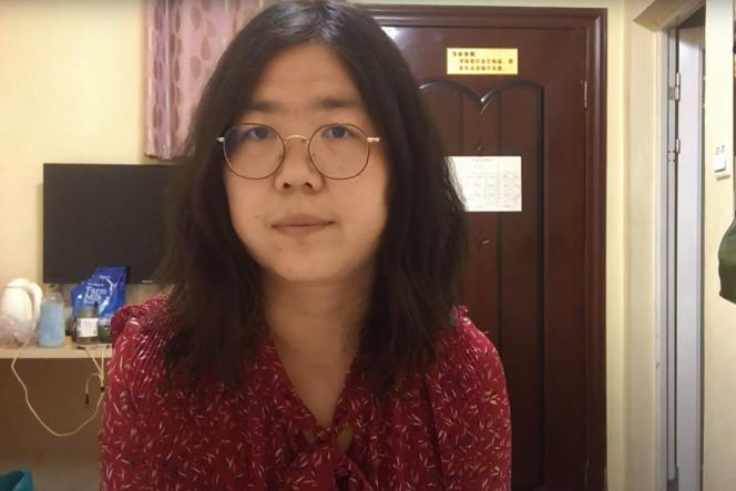 "Four years in prison for a ""citizen journalist"" from Wuhan"