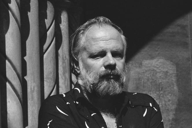 Philip K. Dick, en Californie, en 1977.