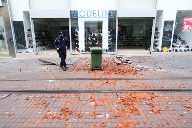 Le tremblement de terre a été particulièrement ressenti à Zagreb, la capitale croate, le 29 décembre.
