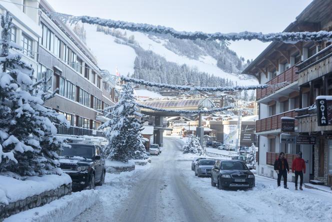A Courchevel (Savoie), jeudi 10 décembre 2020.