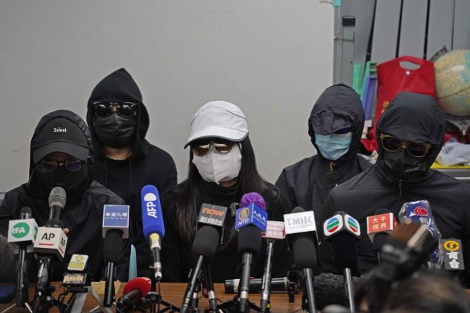 The trial of the twelve young fugitives from Hong Kong held behind closed doors in Shenzhen