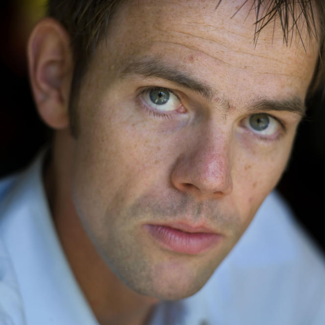 L'historien et philosophe politique néerlandais Luuk van Middelaar, en 2008.