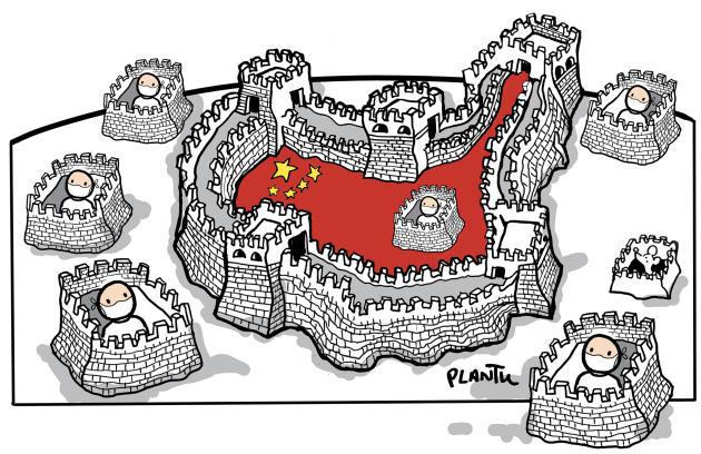 Janvier. La Chine confine la ville de Wuhan.