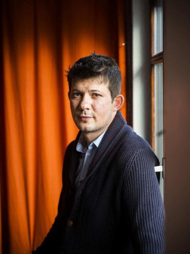 Frédéric Vagneron, historian, on December 30, 2020, in Strasbourg.