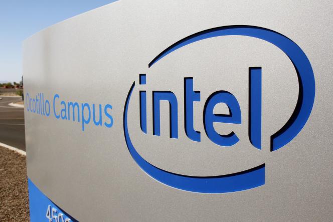 L'usine d'Intel à Chandler (Arizona), en octobre 2020.