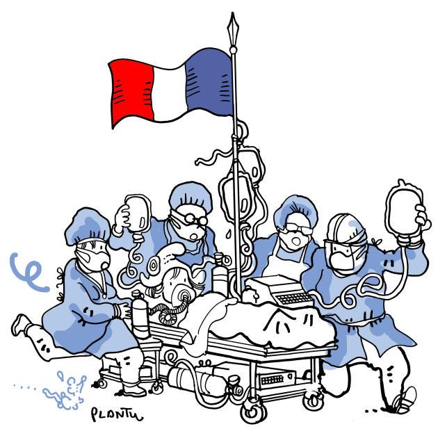 Mai. Les malades et les morts se multiplient dans des hôpitaux saturés.