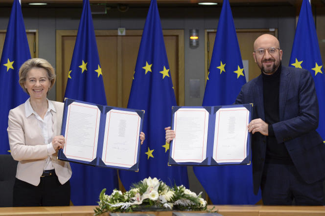 European Union signs post-Brexit agreement