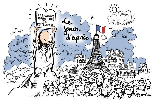 Juillet. Edouard Philippe invite les Français à mettre le masque systématiquement.