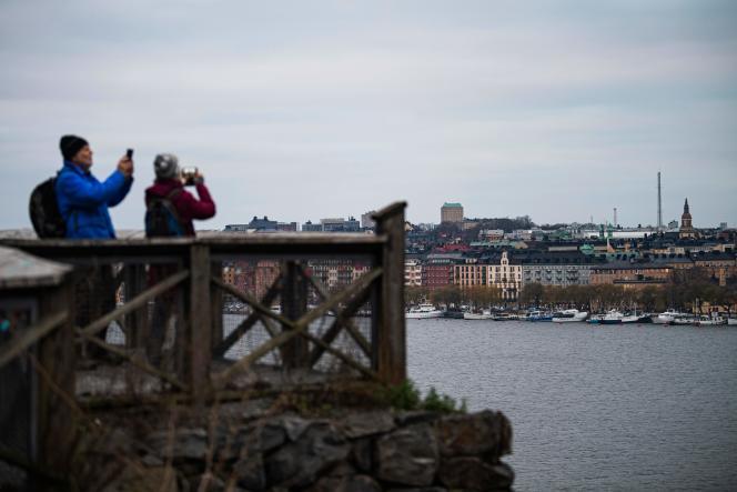 جهانگردان در 10 دسامبر در استکهلم.