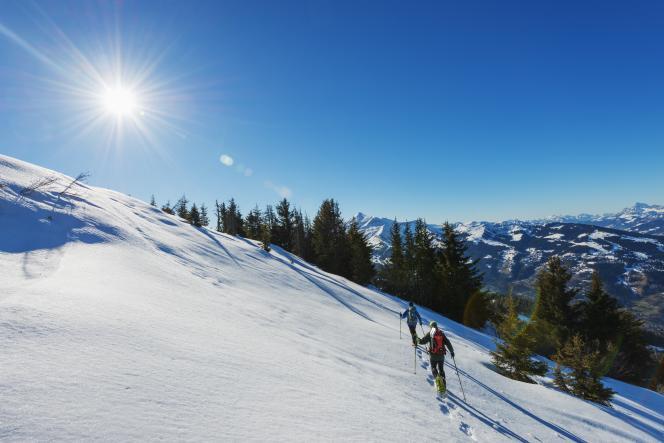 Aux Houches, en Haute-Savoie.