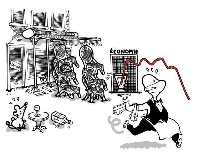 Mars. La crise sanitaire et le confinement entraînent une crise sociale mondiale sans précédent.