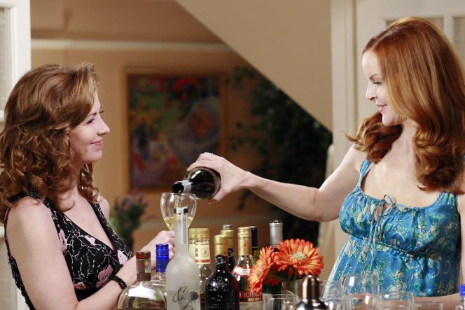 «Desperate Housewives», saison 4, avec Dana Delany et Marcia Cross.
