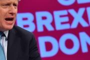 Le premier ministre britannique Boris Johnson, à Manchester,le 02 octobre 2019.