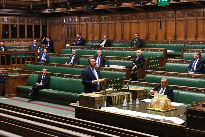 در مجلس عوام ، 30 دسامبر در لندن.